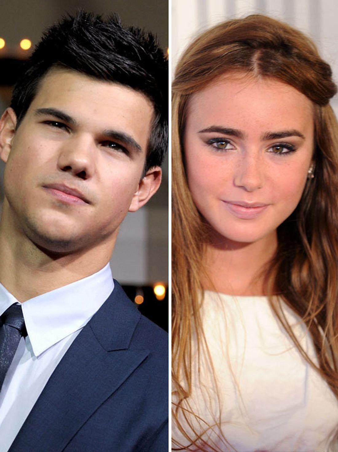 Taylor Lautner und Lily Collins sind ein Paar
