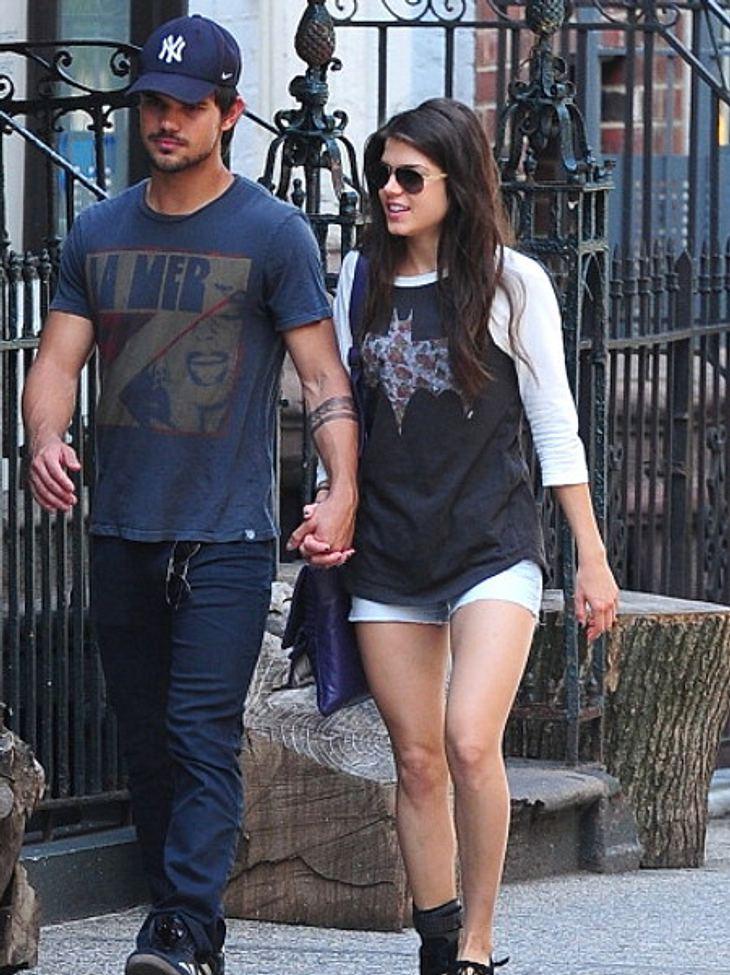 Taylor Lautner und Freundin Marie sind verliebt wie nie!