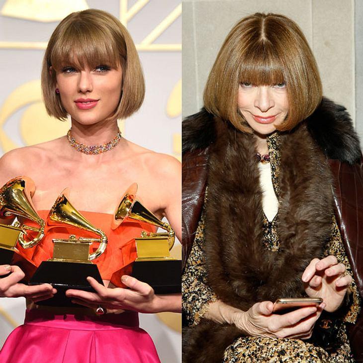 Taylor Swift und Anna Wintour sind Frisur-Zwillinge