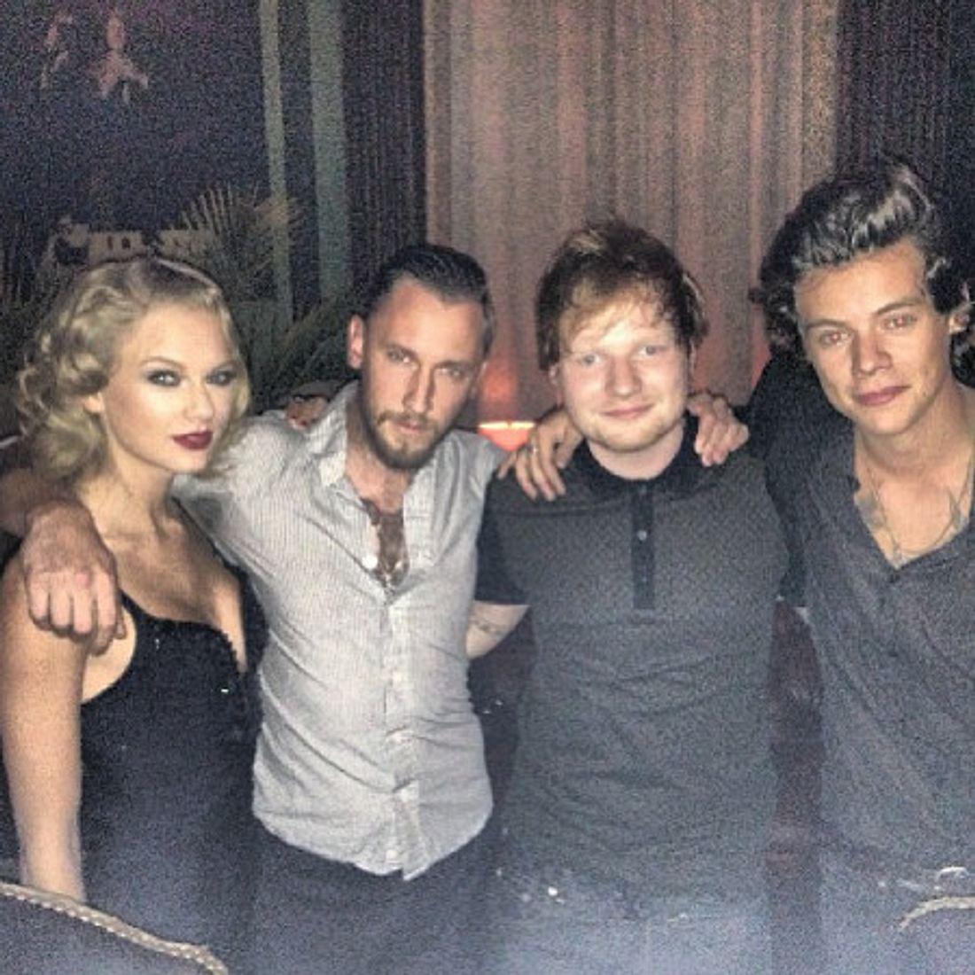 Taylor Swift und Harry Styles posierten auf der After-Party.