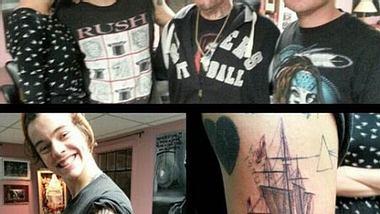 Harry Styles und Taylor Swift: Zusammen im Tattoo-Studio - Foto: Twitter