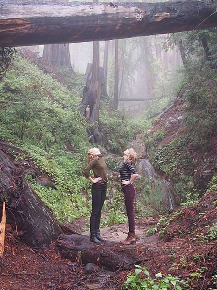 Taylor Swift und Karlie Kloss auf ihrem Roadtrip durch Kalifornien.