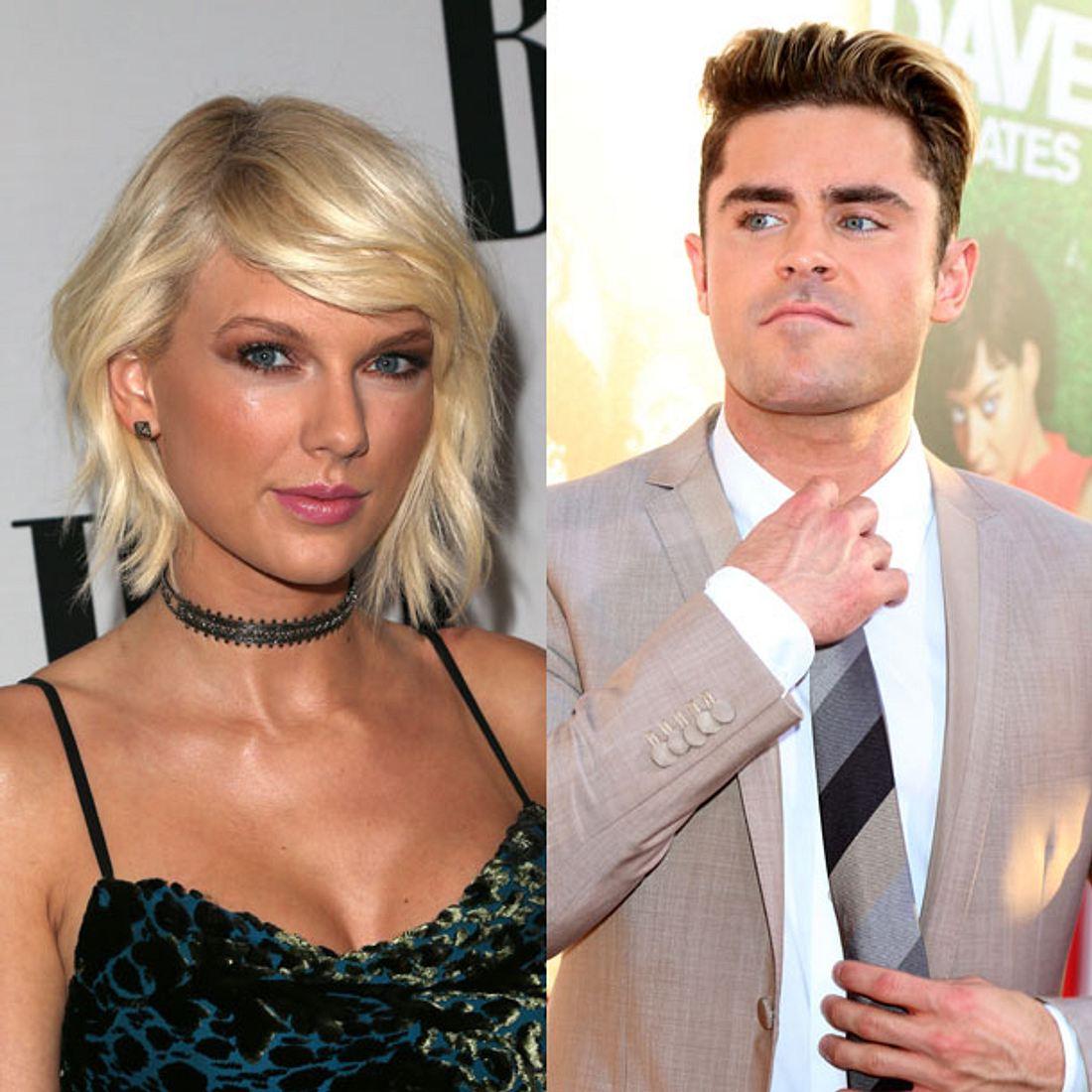 Hat es Taylor Swift auf Zac Efron abgesehen?