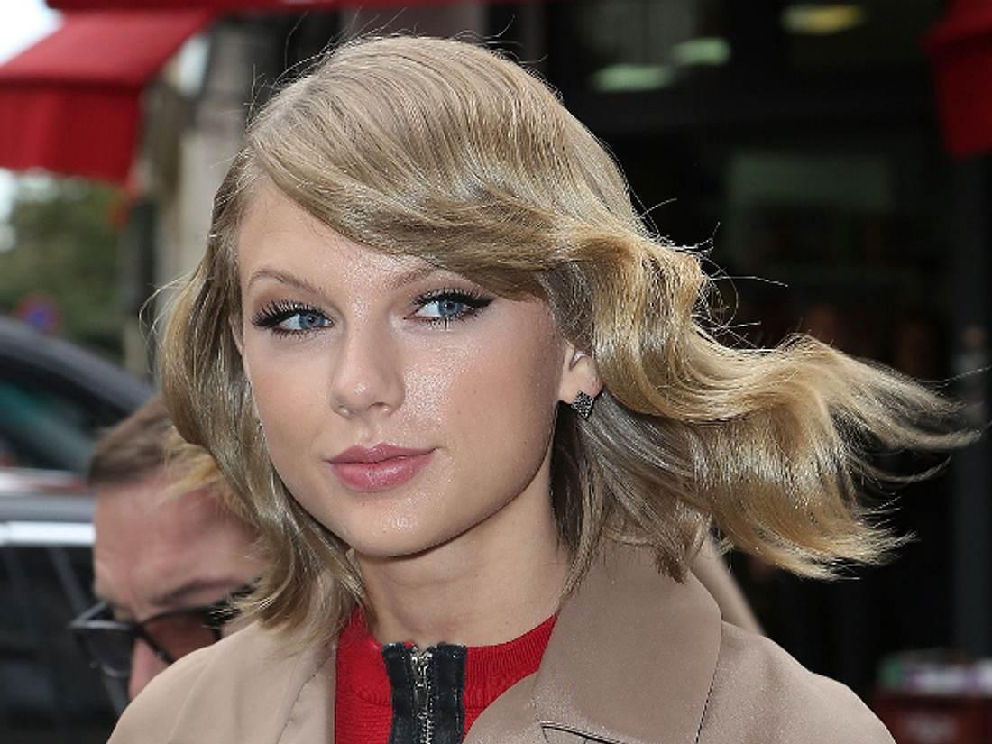 Taylor feiert ihren großen Treffer