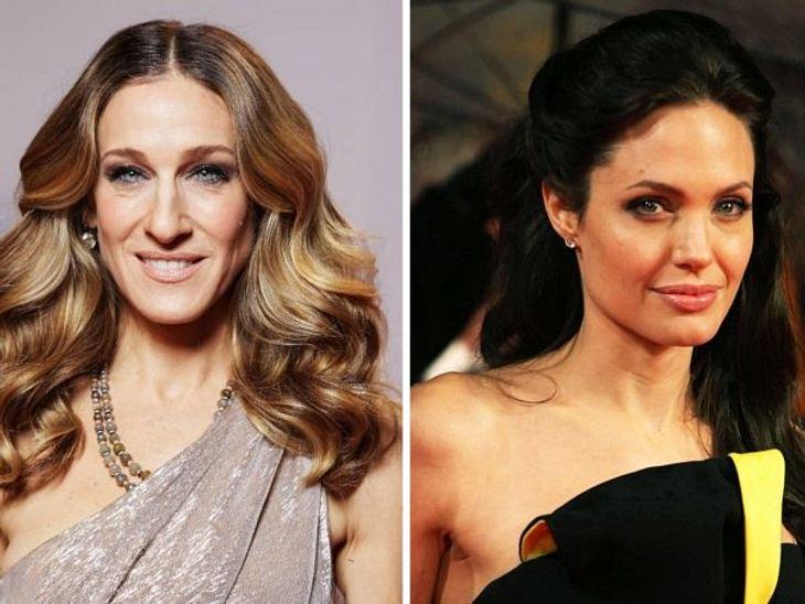 Die Topverdienerinnen Sarah Jessica Parker und Angelina Jolie
