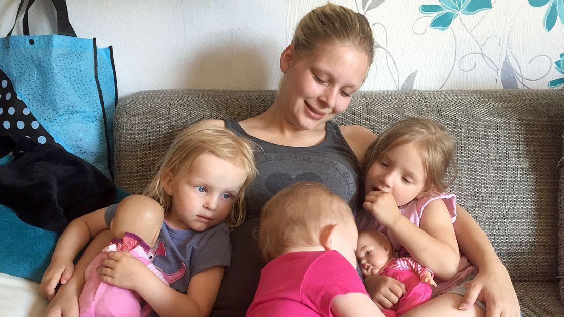 Teenie-Mütter: Natalie hat drei Kinder - jetzt bekommt sie Zwillinge!