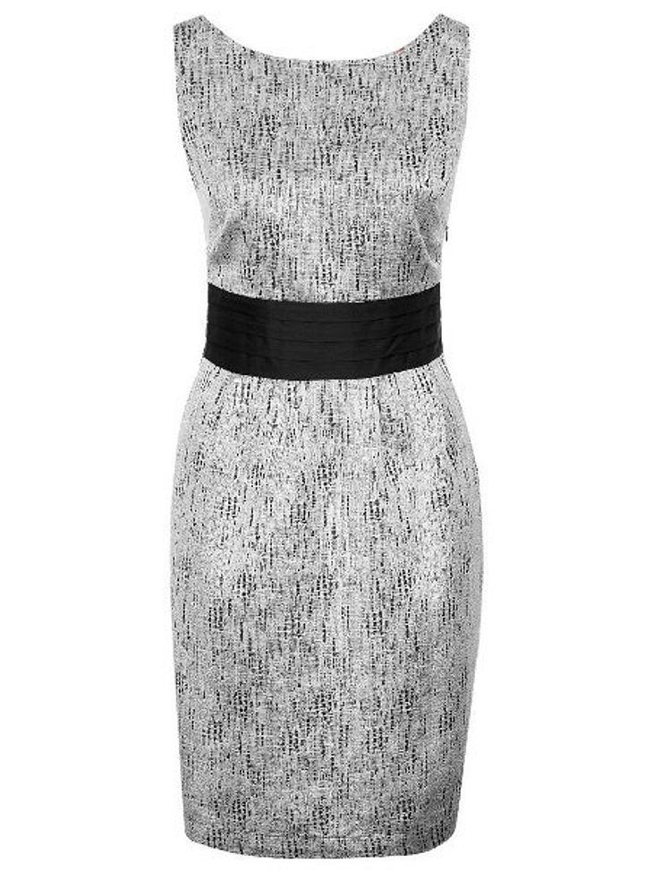 Klau den Look der Stars: Partykleider-SpecialSilberfarbenes Kleid von Minimum, um 109,95 Euro