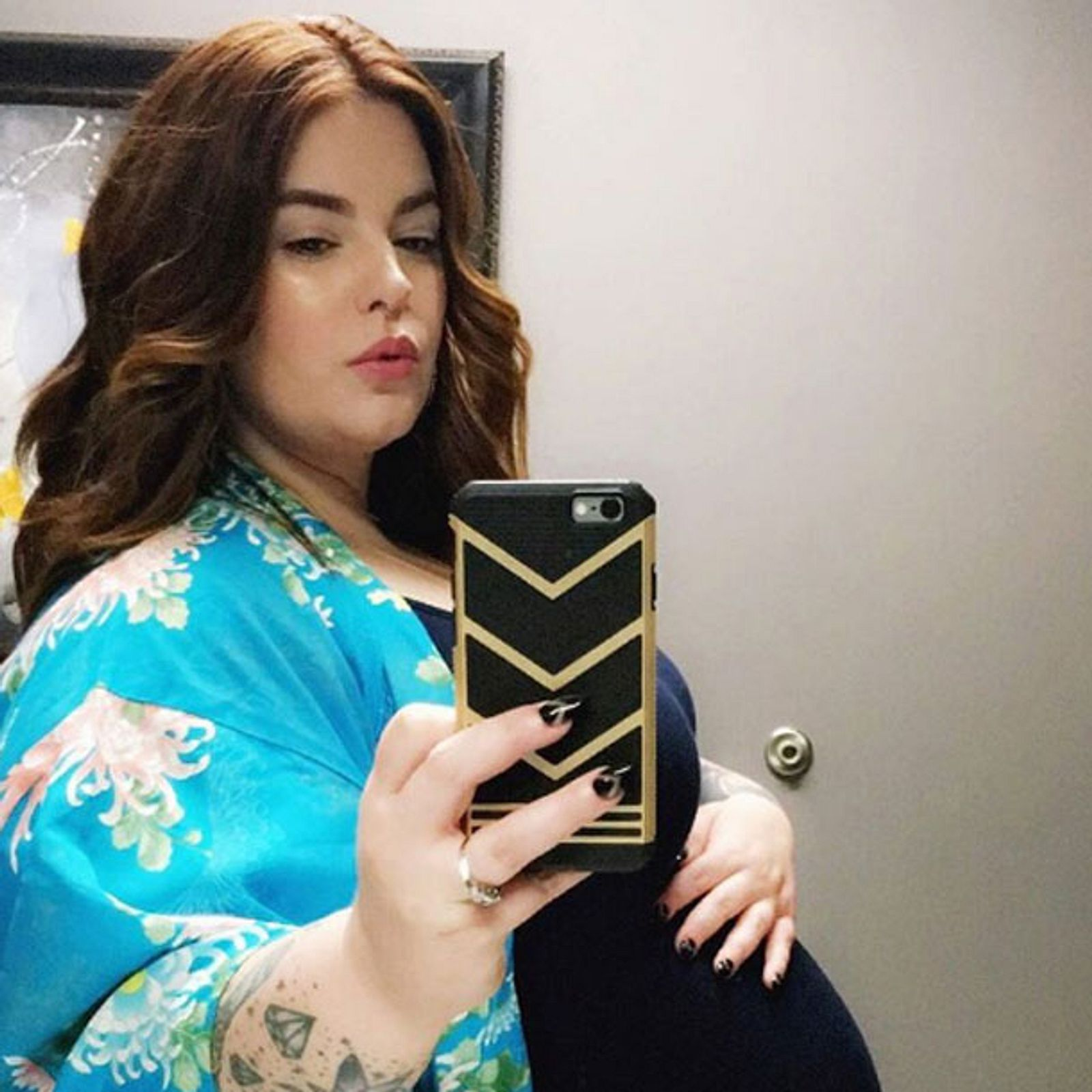 Plus-Size-Model Tess Holliday ist Mama geworden   InTouch