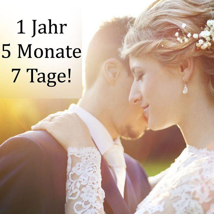 Test: Wie viel Zeit bleibt dir bis zu deiner Hochzeit?