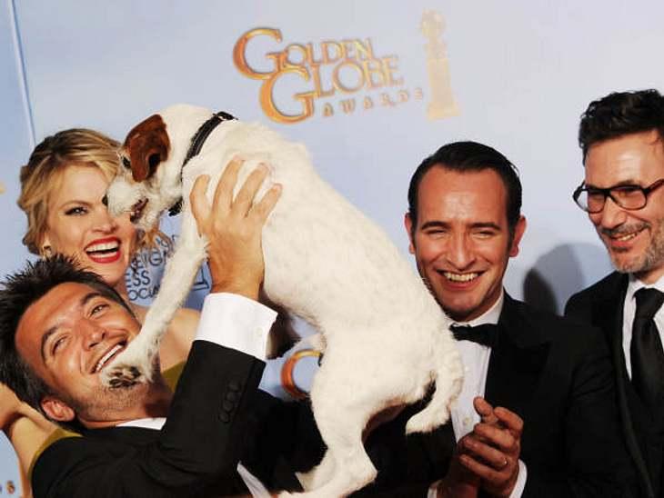 """Der französische Stummfilm """"The Artist"""" gehörte zu den großen Gewinnern der """"Golden Globes 2012"""""""