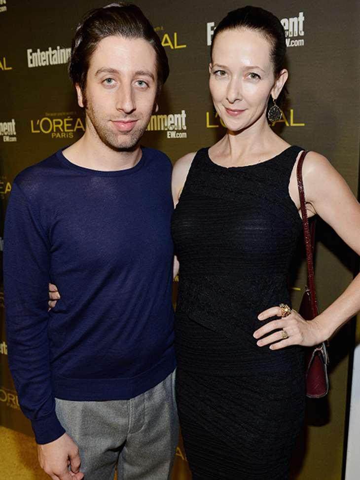 """Die """"The Big Bang Theory""""-Schauspieler ganz privatZusammen mit seiner Frau Jocelyn Towne arbeitet er an dem Independant Film """"I am I"""". Sie schrieb das Drehbuch und spielt in dem Film mit, genau wie er."""