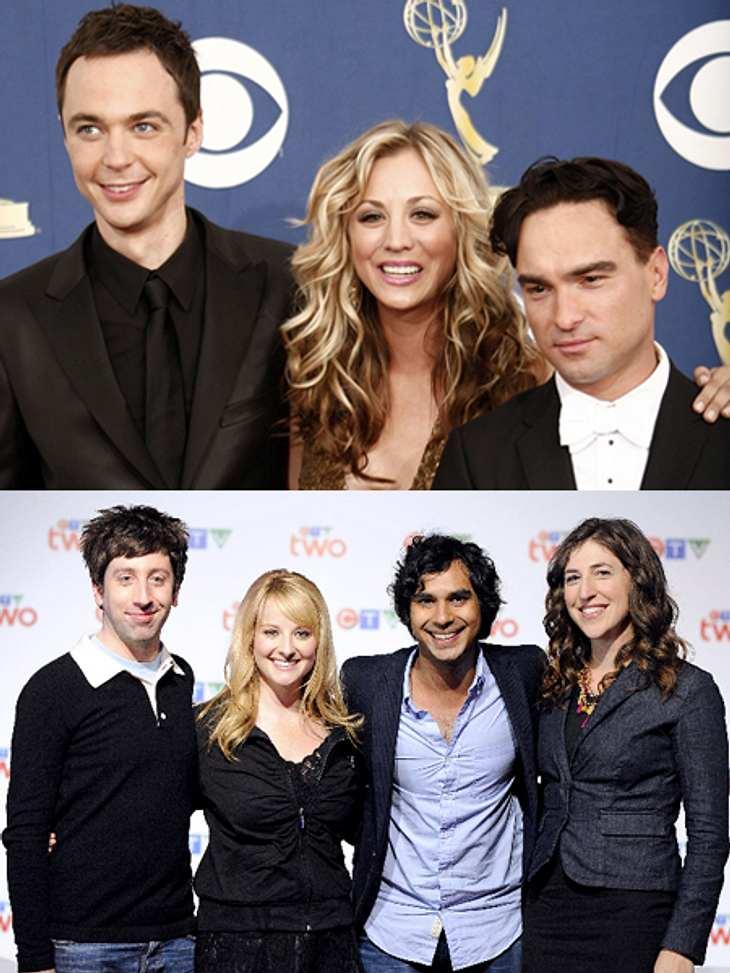 "Die ""The Big Bang Theory"" Schauspieler"