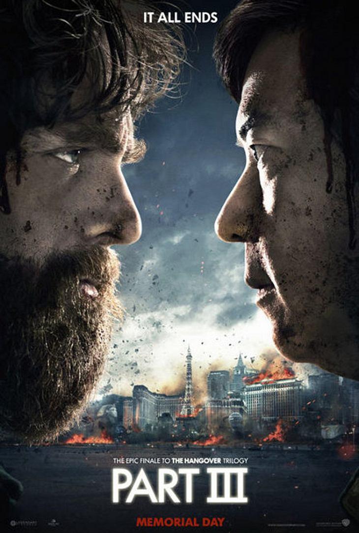 Ab Mai 2013 kommt Hangover 3 auch in die deutschen Kinos