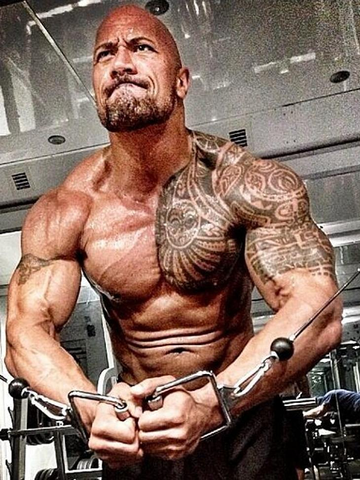 Dwayne Johnson Muskeln