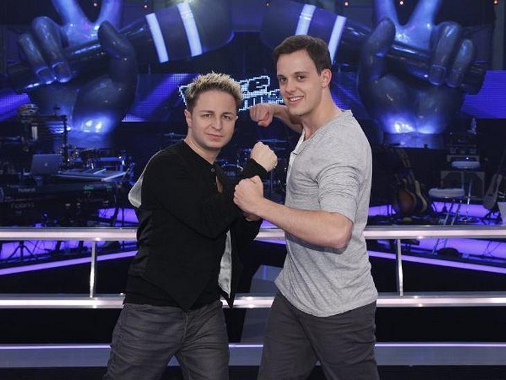"""""""The Voice of Germany"""" - die BattlesTeam Xavier Naidoo schickt Brandon Stone (32) und Jonas Hein (24) zusammen in die Battles."""