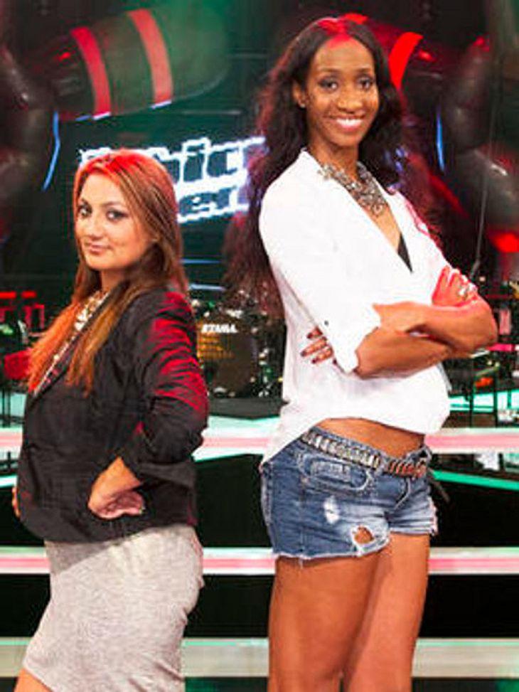 """Norisha und Georgina lieferten bei """"The Voice"""" ein Duell der Gegensätze"""