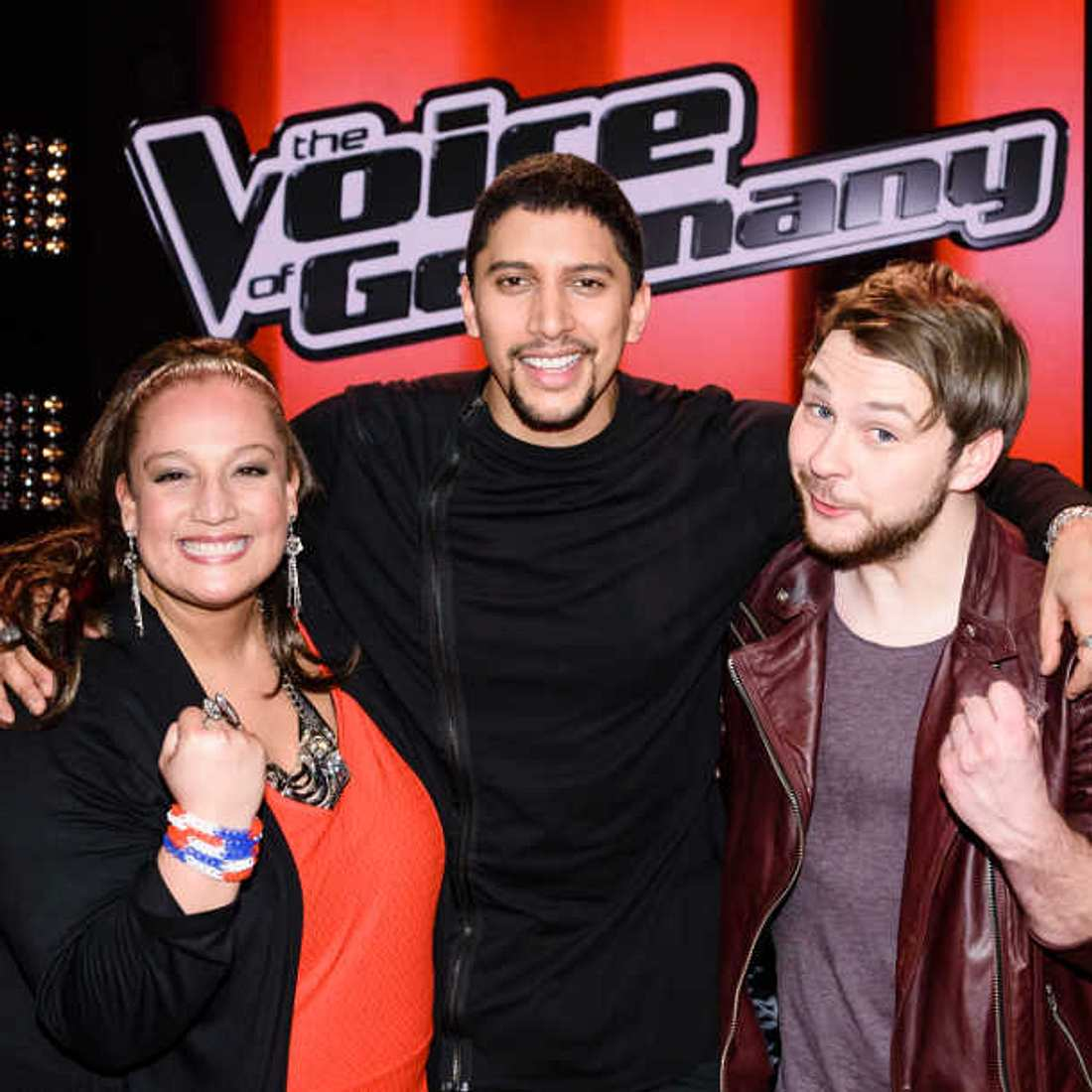 The Voice: Andreas Bourani steht mit Ayke Witt und Tiffany Kemp im Finale!
