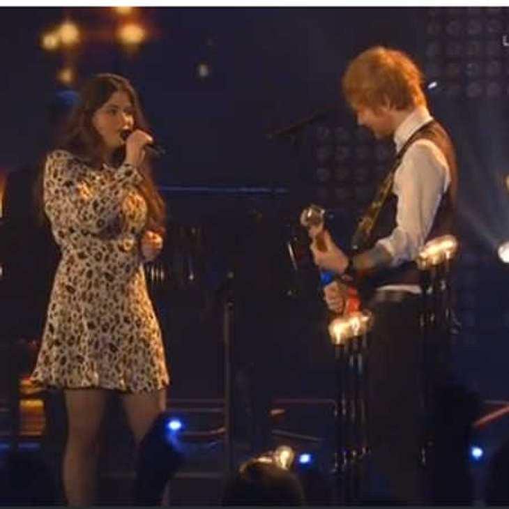 The Voice: Was läuft zwischen Ed Sheeran und Lina Arndt?
