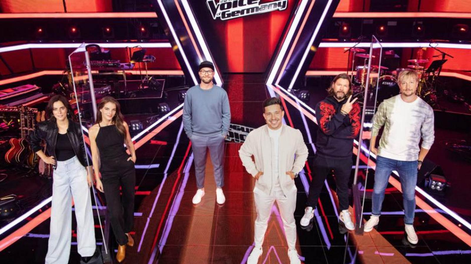 The Voice Of Germany Jury 2021