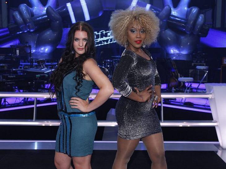 """""""The Voice of Germany"""" - die BattlesBianca Böhme (20) und Jessica Mears (31) aus Team Rea Garvey treten gegeneinander an."""