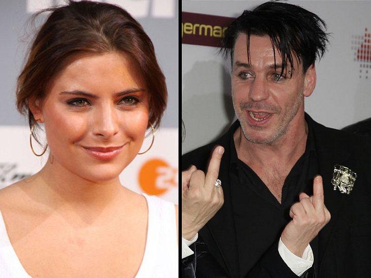 Sophia Thomalla Liebt Rammstein Rocker Intouch
