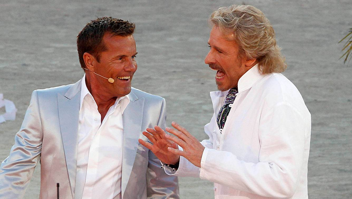 Dieter Bohlen und Thomas Gottschalk