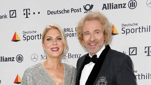 Thomas Gottschalk und Karina - Foto: IMAGO / Eventpress