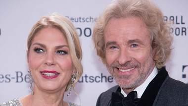 Thomas Gottschalk und Karina Mross - Foto: Imago