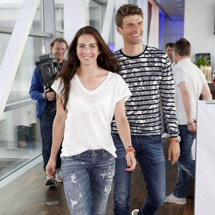 So süß schwärmt Thomas Müller von seiner Frau