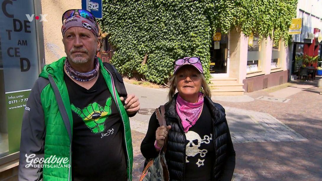 Thommy und Kathrin Mermi-Schmelz bei Goodbye Deutschland heute - Foto: TVNow/Screenshot