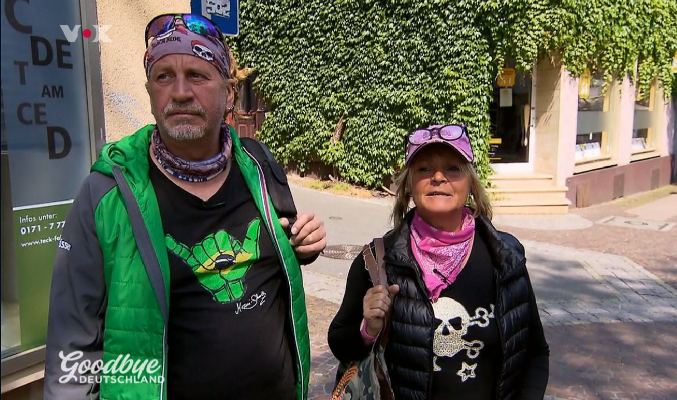 Thommy und Kathrin Mermi-Schmelz bei Goodbye Deutschland heute