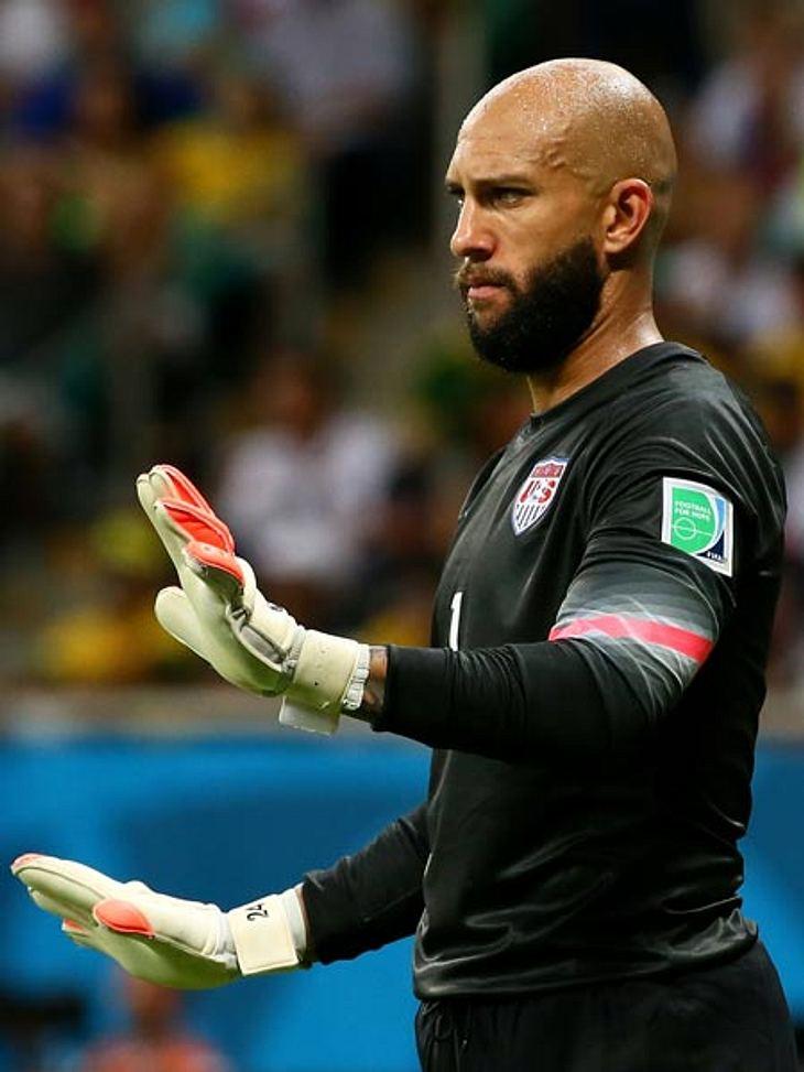 Trotzdem musste sich US-Keeper Tim Howard gegen DFB-Schütze Thomas Müller geschlagen geben