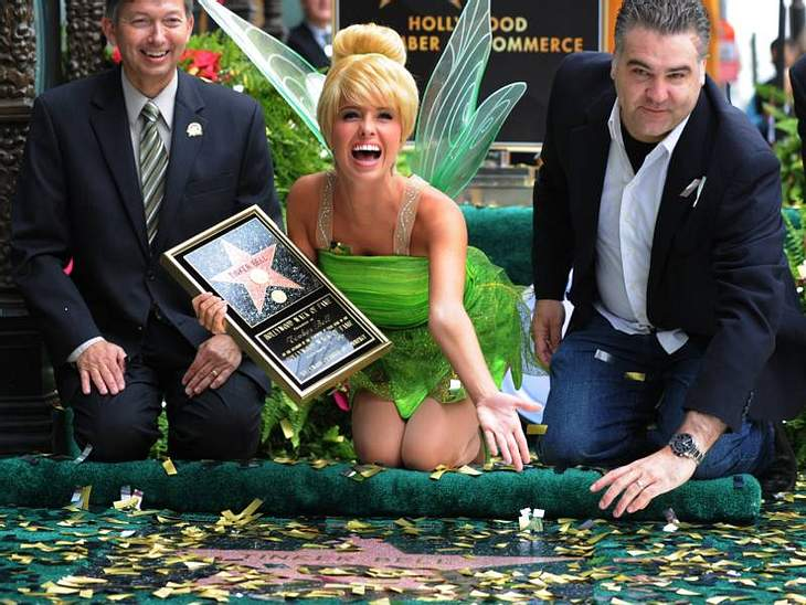 Walk of Fame: Die Sternstunde der Stars,Sogar fiktive Figuren wie Tinkerbell, Winnie Pooh & Co haben einen eigenen Stern auf dem Walk of Fame.