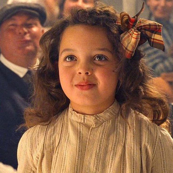 Titanic-Mädchen Cora: Das macht Alex Owens-Sarno heute