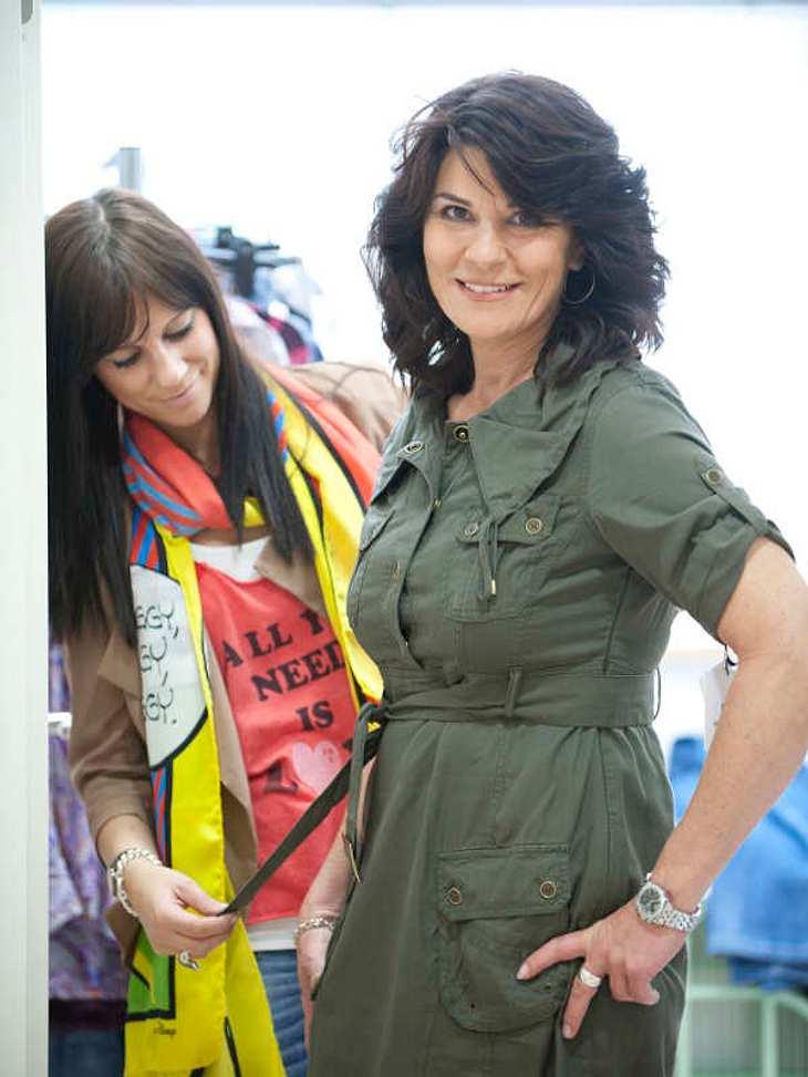 Danach bekam Tamia Tipps von der TK Maxx-Styling-Expertin: Kleider stehen ihr besonders gut!