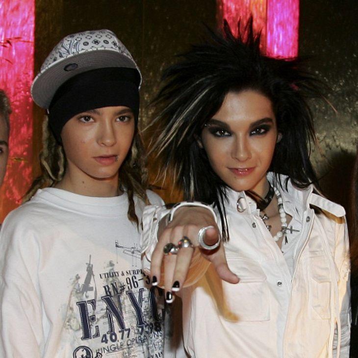 Vor zehn Jahren sahen Bill und Tom Kaulitz noch so aus