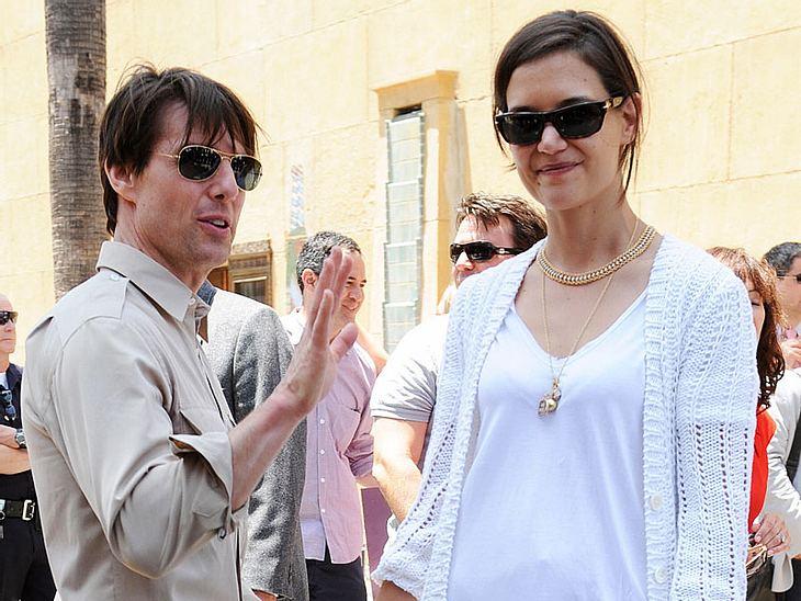 Tom Cruise will es angeblich noch einmal wagen und mit seiner Ehefrau die große Leinwand unsicher machen