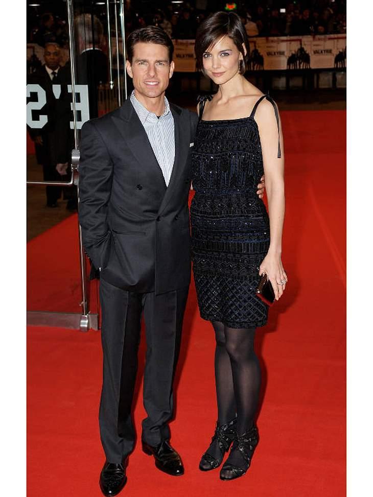 Genausoviel gaben auch Tom Cruise und Katie Holmes aus. Satte zwei Millionen kostete ihre Trauung.