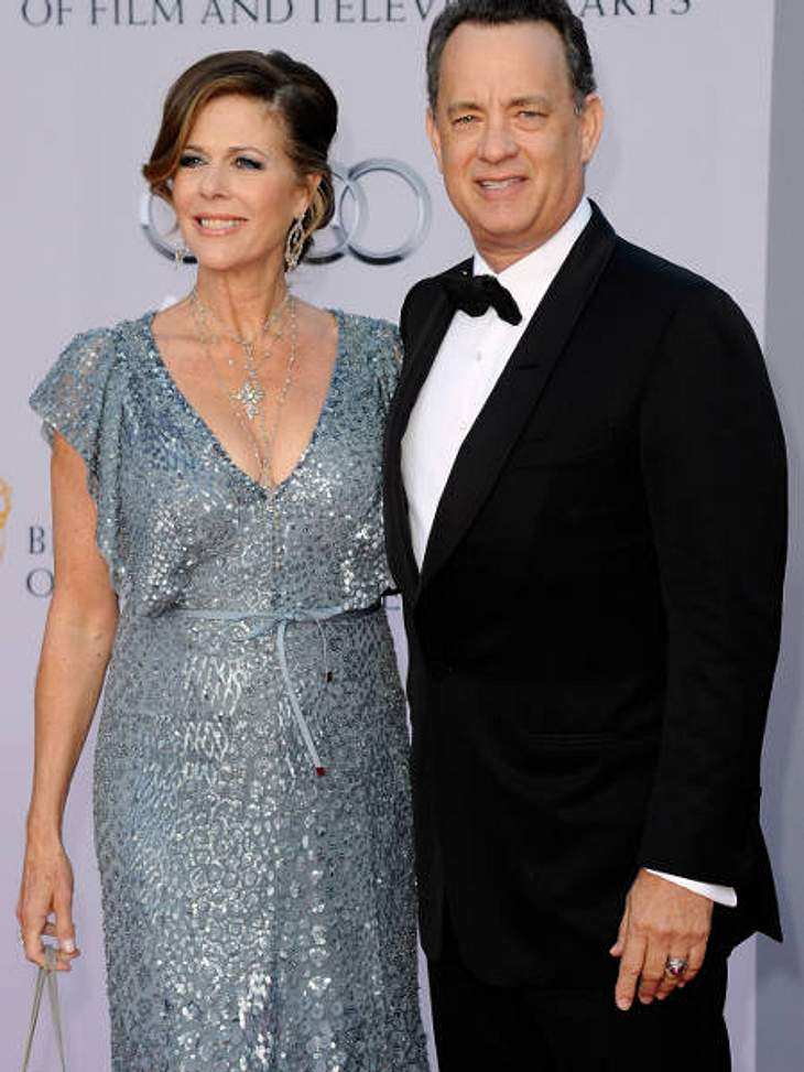BAFTA Gala DinnerTom Hanks kam mit seiner Frau zur Verleihung und unterhielt sich beim Gala-Dinner ausgiebig mit Herzogin Catherine.