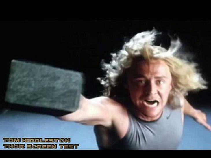 """Tom Hiddleston hätte fast die Rolle des """"Thor"""" gespielt."""