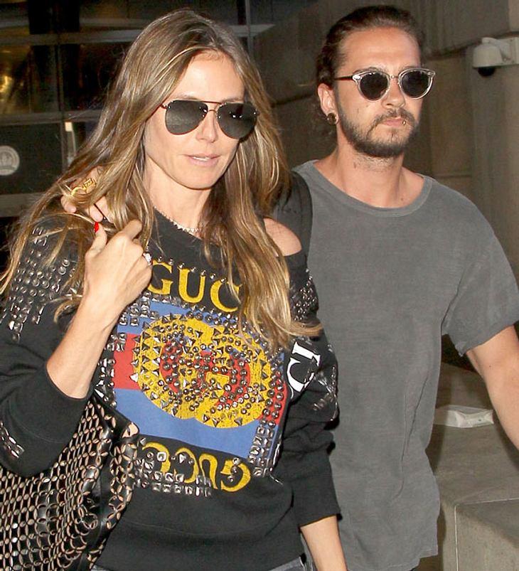 Wie ein Brautpaar: Heidi Klum und Tom Kaulitz posieren in Cannes