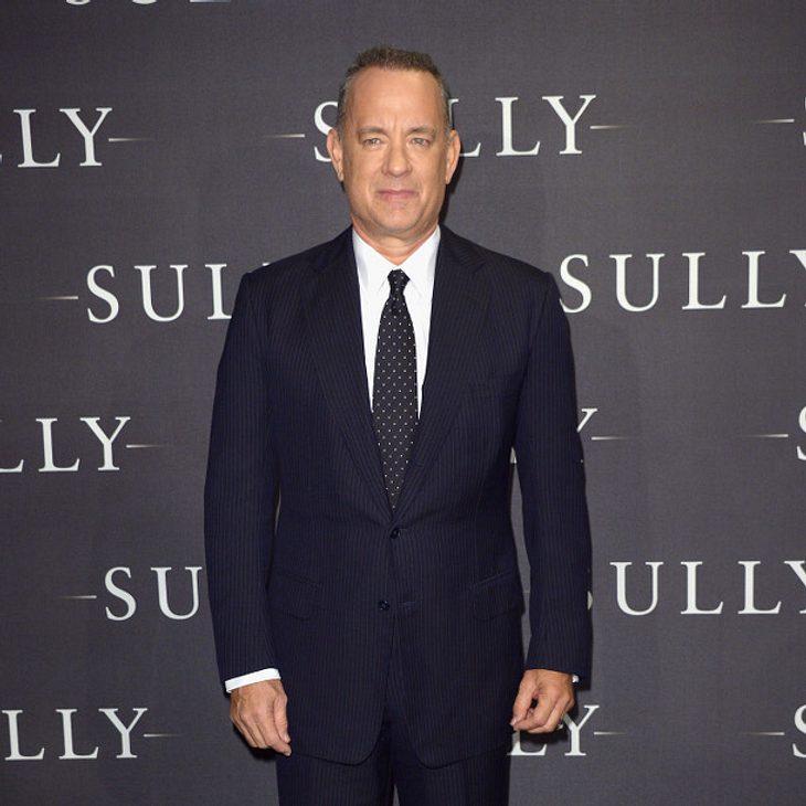 Tom Hanks hat seit April eine kleine Enkelin