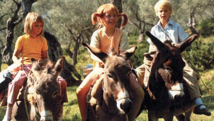 Annika, Pippi und Tommy