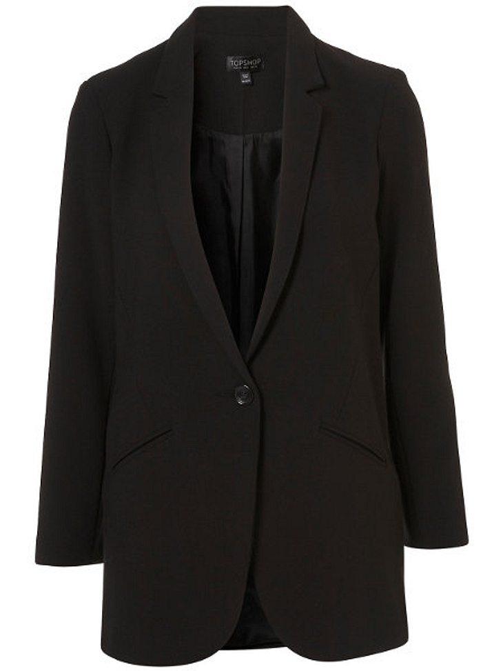 Klau den Look von Carmen GeissLanger Amish-Blazer von Topshop, um 80,00 Euro