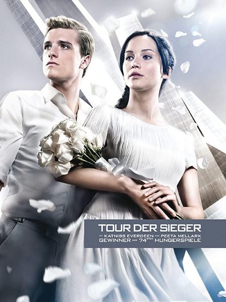 Das Siegerfoto von Katniss und Peeta.