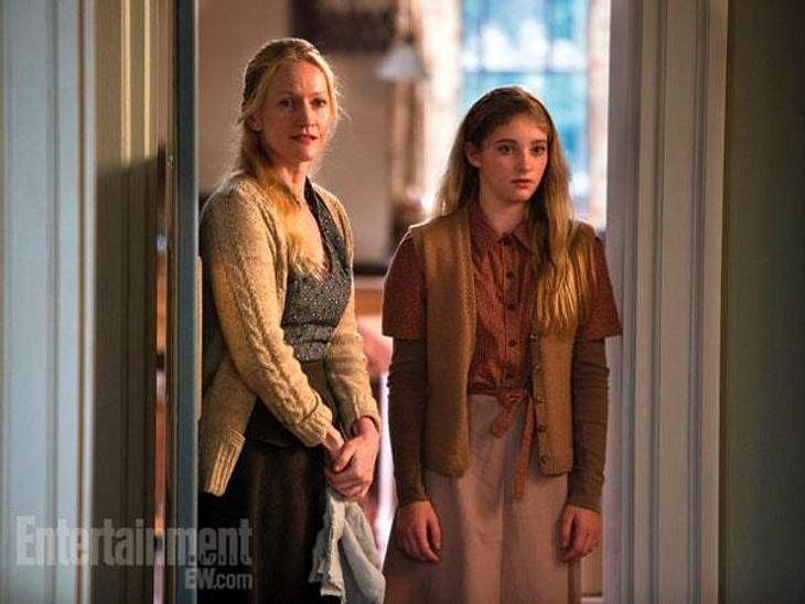 Genaus wie Katniss' Mutter und ihre Schwester Prim.