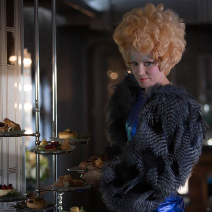 EXKLUSIV! Effie Trinket in Catching Fire
