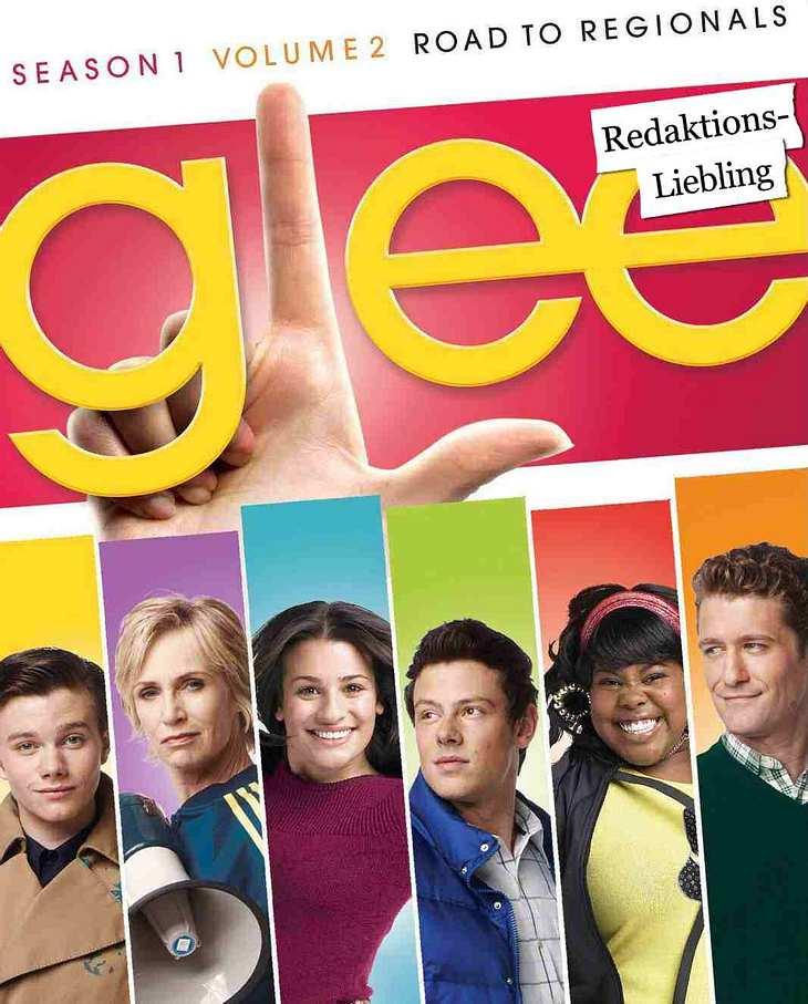 """Die besten TV-Serien""""Glee"""" Der Glee-Chor um den Leiter Will Schuster  ist ein Club von singenden Außenseitern. Da wären unter anderem der schwule Kurt, die pummelige Möchtegern- Beyoncé Mercedes und die Cheerleaderin Quinn. Gemein"""
