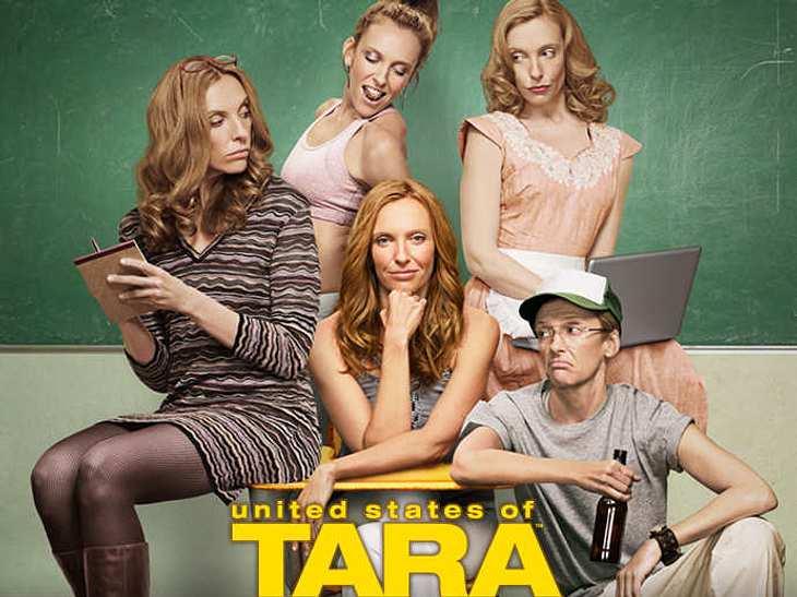 """Die besten TV-Serien""""United States of Tara""""Eigentlich ist Hausfrau Tara schwer krank- sie leidet unter Schizophrenie. Aber die Serie leistet einen tollen Spagat zwischen Drama und Comedy und das ist vor allem zwei fabelhaften Frau"""