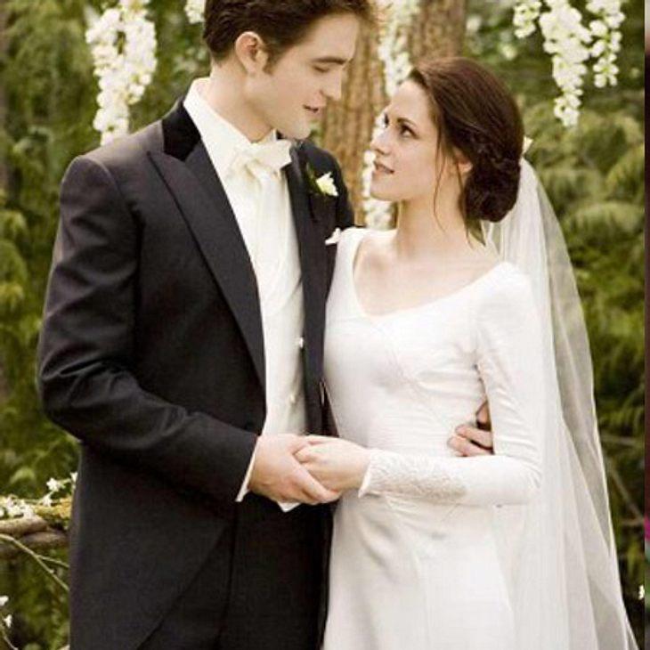 Twilight: Die Liebesgeschichte von Bella und Edward,Endlich: Bella und Edward heiraten. Doch es kommt zum Eklat, als Bella Jacob von der bevorstehenden Hochzeitsnacht erzählt. Wütend verlässt Jacob die Hochzeitsfeier. Bella und Edward brech